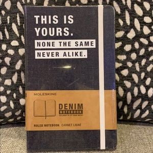 Moleskine Denim Ruled Notebook